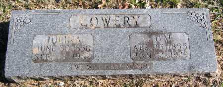 ELAM LOWERY, MARGRET JULINA - Marion County, Arkansas   MARGRET JULINA ELAM LOWERY - Arkansas Gravestone Photos