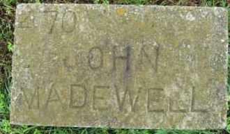 MADEWELL, JOHN - Marion County, Arkansas | JOHN MADEWELL - Arkansas Gravestone Photos
