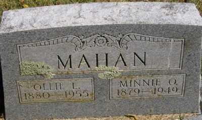 MAHAN, OLLIE L. - Marion County, Arkansas | OLLIE L. MAHAN - Arkansas Gravestone Photos