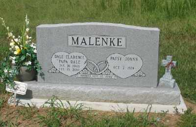 MALENKE, DALE CLARENCE - Marion County, Arkansas | DALE CLARENCE MALENKE - Arkansas Gravestone Photos