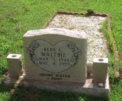 MALTBIE, REBA L. - Marion County, Arkansas | REBA L. MALTBIE - Arkansas Gravestone Photos