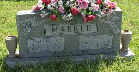 MARKLE, EVA J. - Marion County, Arkansas | EVA J. MARKLE - Arkansas Gravestone Photos