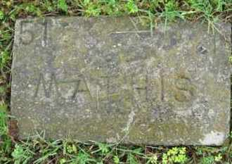 MATHIS, (NO FIRST NAME LISTED) - Marion County, Arkansas   (NO FIRST NAME LISTED) MATHIS - Arkansas Gravestone Photos