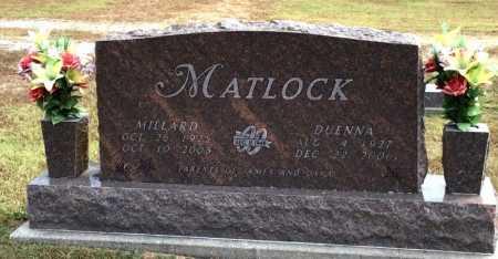 MATLOCK, DUENNA - Marion County, Arkansas | DUENNA MATLOCK - Arkansas Gravestone Photos