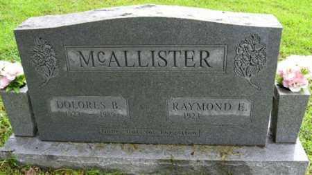 MCALLISTER, DOLORES B. - Marion County, Arkansas   DOLORES B. MCALLISTER - Arkansas Gravestone Photos