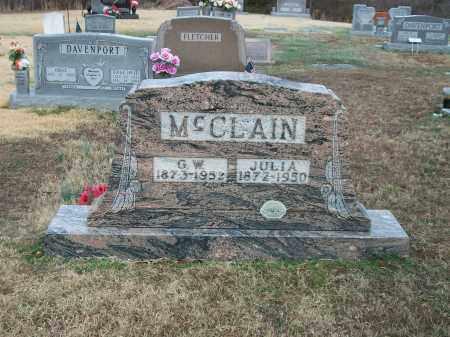 MCCLAIN, GEORGE WASHINGTON - Marion County, Arkansas   GEORGE WASHINGTON MCCLAIN - Arkansas Gravestone Photos