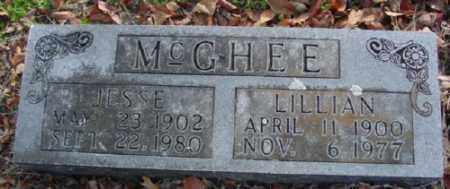 MCGHEE, JESSE - Marion County, Arkansas | JESSE MCGHEE - Arkansas Gravestone Photos