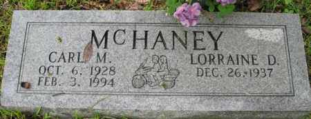 MCHANEY, CARL M. - Marion County, Arkansas | CARL M. MCHANEY - Arkansas Gravestone Photos