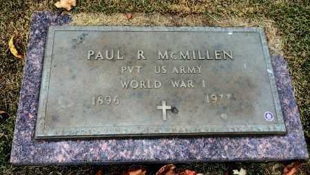 MCMILLEN (VETERAN WWI), PAUL R - Marion County, Arkansas | PAUL R MCMILLEN (VETERAN WWI) - Arkansas Gravestone Photos