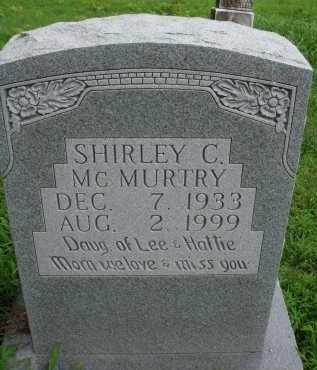 PURDOM MCMURTRY, SHIRLEY C. - Marion County, Arkansas | SHIRLEY C. PURDOM MCMURTRY - Arkansas Gravestone Photos