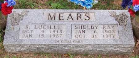 REEVES MEARS, R. LUCILLE - Marion County, Arkansas | R. LUCILLE REEVES MEARS - Arkansas Gravestone Photos