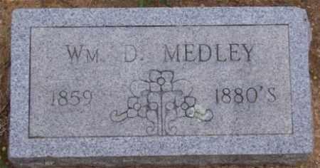 MEDLEY, WM. D. - Marion County, Arkansas | WM. D. MEDLEY - Arkansas Gravestone Photos