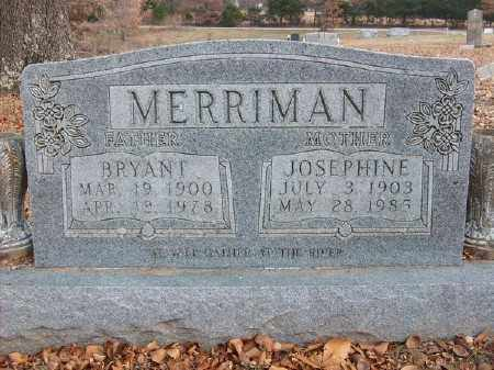 MERRIMAN, BRYANT - Marion County, Arkansas | BRYANT MERRIMAN - Arkansas Gravestone Photos