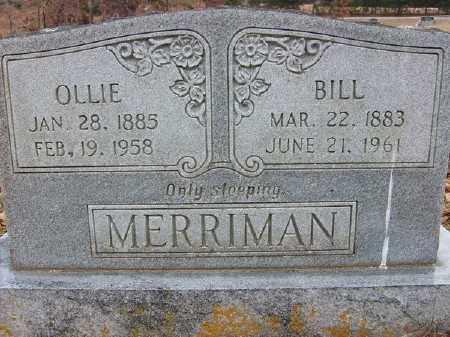 MERRIMAN, BILL - Marion County, Arkansas | BILL MERRIMAN - Arkansas Gravestone Photos