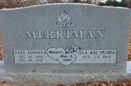 MERRIMAN, EARL LEONARD - Marion County, Arkansas | EARL LEONARD MERRIMAN - Arkansas Gravestone Photos
