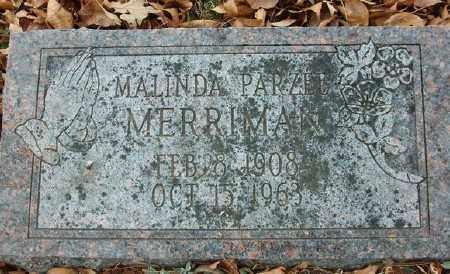 MERRIMAN, MALINDA PARZEE - Marion County, Arkansas   MALINDA PARZEE MERRIMAN - Arkansas Gravestone Photos