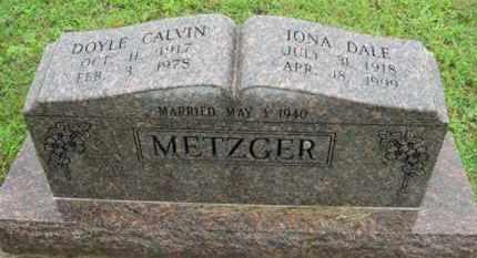 METZGER, DOYLE CALVIN - Marion County, Arkansas | DOYLE CALVIN METZGER - Arkansas Gravestone Photos
