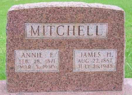 MITCHELL, ANNIE F. - Marion County, Arkansas | ANNIE F. MITCHELL - Arkansas Gravestone Photos