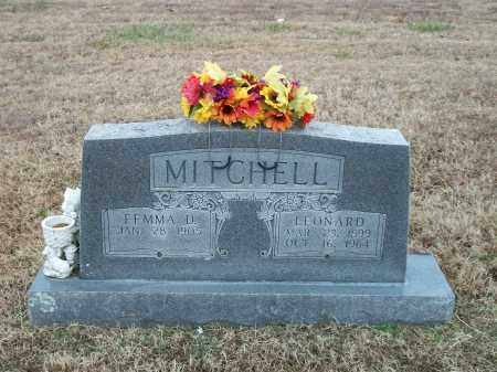 MITCHELL, LEONARD - Marion County, Arkansas | LEONARD MITCHELL - Arkansas Gravestone Photos