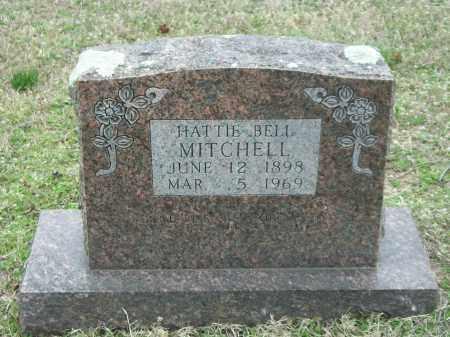 MITCHELL, HATTIE BELL - Marion County, Arkansas | HATTIE BELL MITCHELL - Arkansas Gravestone Photos