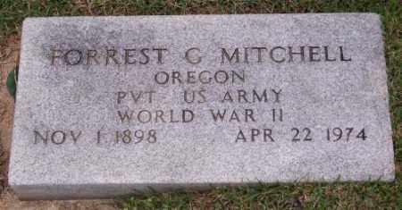 MITCHELL (VETERAN WWII), FORREST G - Marion County, Arkansas | FORREST G MITCHELL (VETERAN WWII) - Arkansas Gravestone Photos