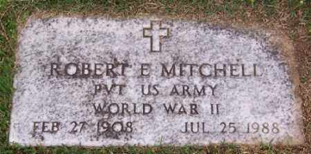 MITCHELL (VETERAN WWII), ROBERT E - Marion County, Arkansas | ROBERT E MITCHELL (VETERAN WWII) - Arkansas Gravestone Photos