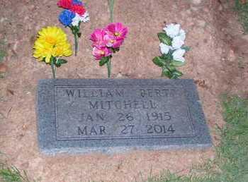 "MITCHELL, WILLIAM ""BERT"" - Marion County, Arkansas | WILLIAM ""BERT"" MITCHELL - Arkansas Gravestone Photos"