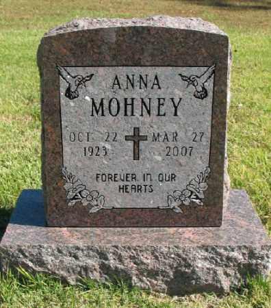 MOHNEY, ANNA - Marion County, Arkansas | ANNA MOHNEY - Arkansas Gravestone Photos
