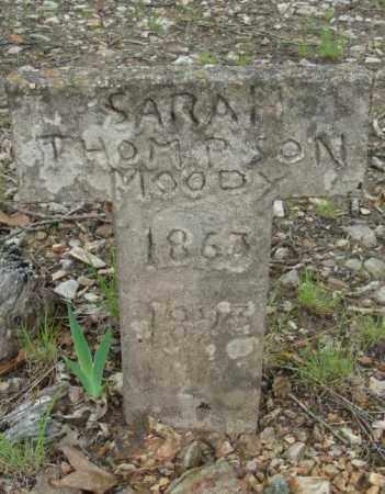 MOODY, SARAH - Marion County, Arkansas | SARAH MOODY - Arkansas Gravestone Photos