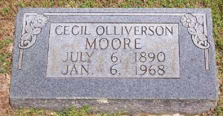 MOORE, CECIL OLLIVERSON - Marion County, Arkansas | CECIL OLLIVERSON MOORE - Arkansas Gravestone Photos
