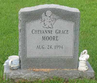 MOORE, CHEYANNE GRACE - Marion County, Arkansas | CHEYANNE GRACE MOORE - Arkansas Gravestone Photos