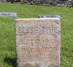 SEAWRIGHT MYERS, DESSIE - Marion County, Arkansas | DESSIE SEAWRIGHT MYERS - Arkansas Gravestone Photos