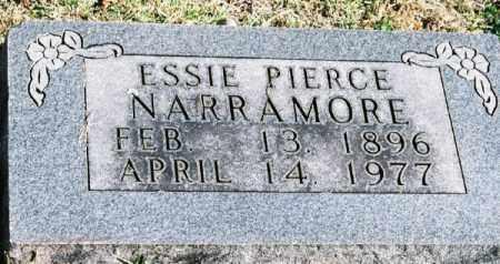 NARRAMORE, ESSIE - Marion County, Arkansas | ESSIE NARRAMORE - Arkansas Gravestone Photos