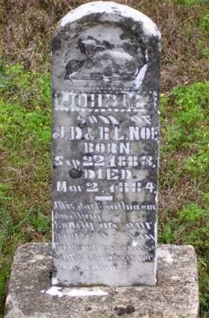 NOE, JOHN M. (SECOND STONE) - Marion County, Arkansas | JOHN M. (SECOND STONE) NOE - Arkansas Gravestone Photos