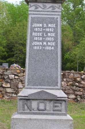 NOE, II, JOHN D. - Marion County, Arkansas   JOHN D. NOE, II - Arkansas Gravestone Photos