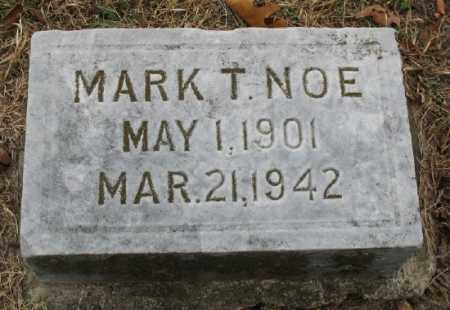 NOE, MARK T. - Marion County, Arkansas | MARK T. NOE - Arkansas Gravestone Photos