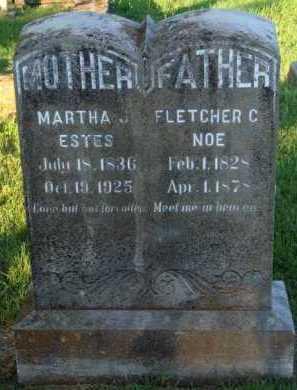 NOE, MARTHA J. - Marion County, Arkansas | MARTHA J. NOE - Arkansas Gravestone Photos