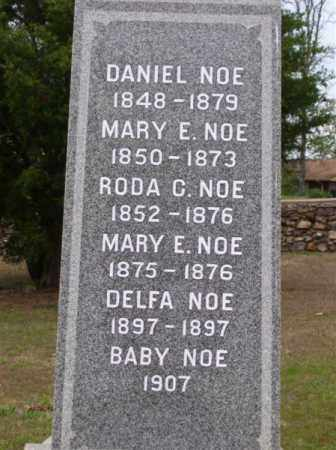 NOE, RHODA C. - Marion County, Arkansas | RHODA C. NOE - Arkansas Gravestone Photos