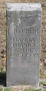 O'DANIEL, MANDA - Marion County, Arkansas   MANDA O'DANIEL - Arkansas Gravestone Photos
