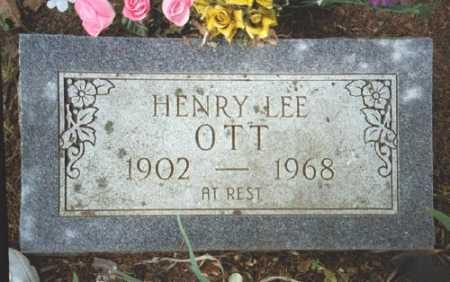 OTT, HENRY LEE - Marion County, Arkansas | HENRY LEE OTT - Arkansas Gravestone Photos