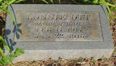 OTT, LONNIE WOODROW (SECOND STONE) - Marion County, Arkansas   LONNIE WOODROW (SECOND STONE) OTT - Arkansas Gravestone Photos