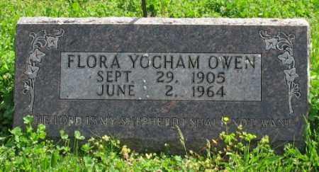 YOCHAM OWEN, FLORA - Marion County, Arkansas   FLORA YOCHAM OWEN - Arkansas Gravestone Photos