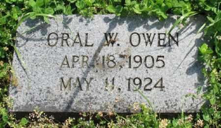 OWEN, ORAL W. - Marion County, Arkansas | ORAL W. OWEN - Arkansas Gravestone Photos