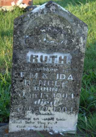 PANGLE, RUTH - Marion County, Arkansas | RUTH PANGLE - Arkansas Gravestone Photos