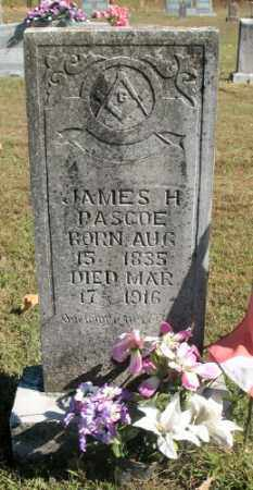 PASCOE, JAMES H. - Marion County, Arkansas | JAMES H. PASCOE - Arkansas Gravestone Photos