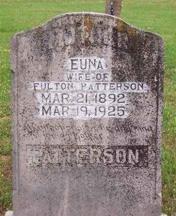 PATTERSON, EUNA - Marion County, Arkansas | EUNA PATTERSON - Arkansas Gravestone Photos