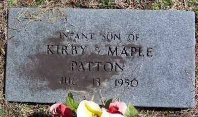 PATTON, INFANT SON - Marion County, Arkansas | INFANT SON PATTON - Arkansas Gravestone Photos