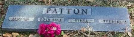 PATTON, THURBER - Marion County, Arkansas | THURBER PATTON - Arkansas Gravestone Photos