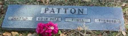 PATTON, ODER BELL - Marion County, Arkansas | ODER BELL PATTON - Arkansas Gravestone Photos