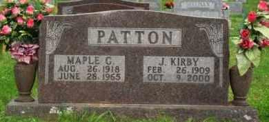 PATTON, J. KIRBY - Marion County, Arkansas | J. KIRBY PATTON - Arkansas Gravestone Photos